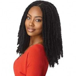 """Outre X-Pression Twisted Up Crochet Braid - SPRINGY AFRO TWIST 16"""""""