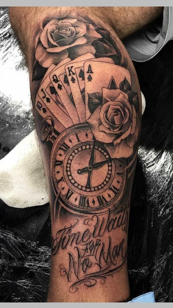 49 Amazing Clock Tattoos Ideas Tattoosformen Tattoos