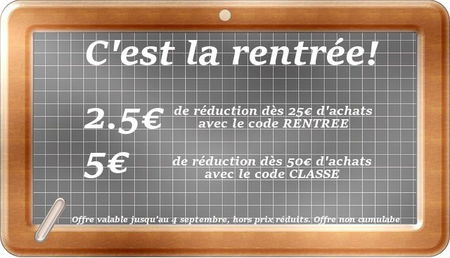 Offre spéciale rentrée! #codepromo 5€ offerts sur vos #soinscheveux. Offre valable jusqu'au 4 septembre sur www.dinafroshop.com