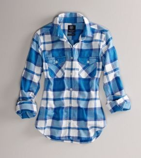 Nothing beats flannel for the colder days!