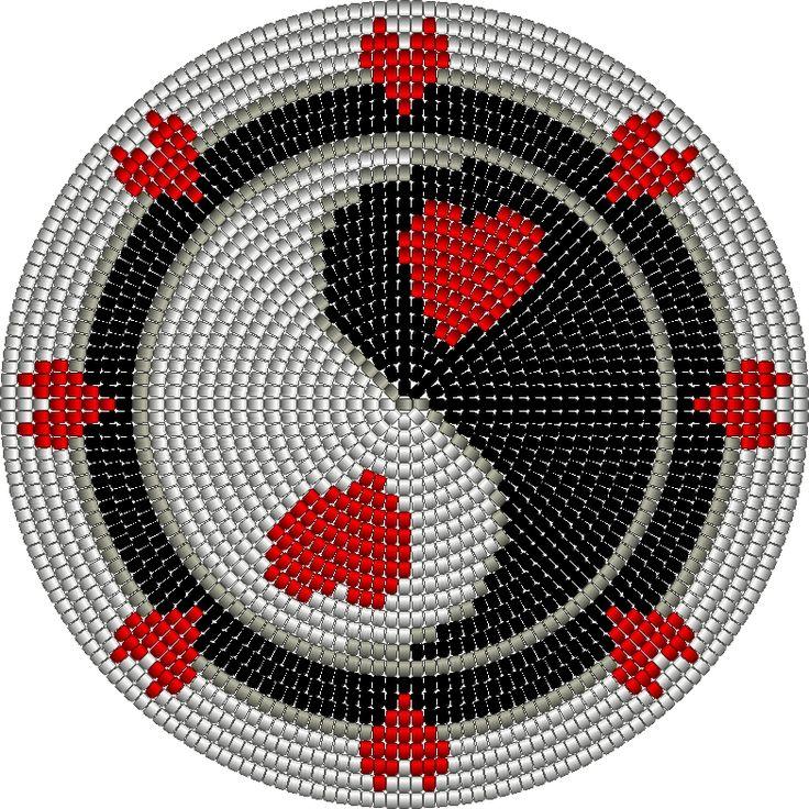 mochila wayuu bodem yin yang hart