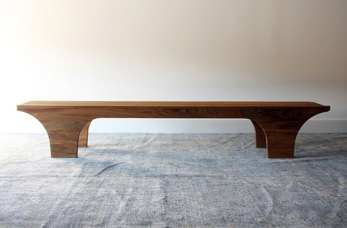 In our one bedroom apartment, space is sacred; which is why our wooden bench, meant to accompany the dining table, lives an alternate life as an entryway b