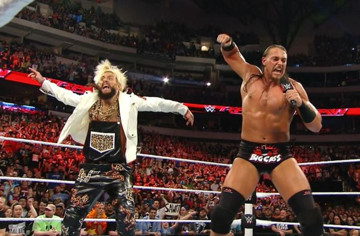 enzo amore and colin cassady on raw