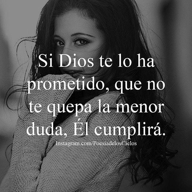 Las promesas de Dios para mi vida - Frases Cristianas en Imagenes