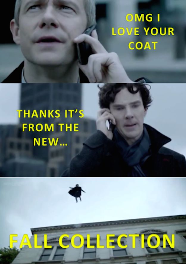 When Sherlock and John had a nice, normal little chat. | 27 Times The Sherlock Fandom Won Tumblr