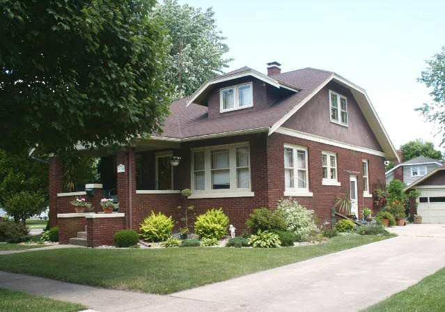 Chicago Bungalow.....very similar to our house