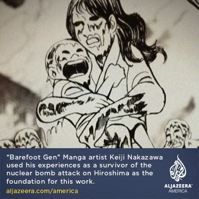 Best 95 a love of japanese art barefoot gen ideas on pinterest barefoot gen manga artist keiji nakazawa used his experiences as a survivor of the nuclear bomb attack on hiroshima as the foundation for this work thecheapjerseys Gallery