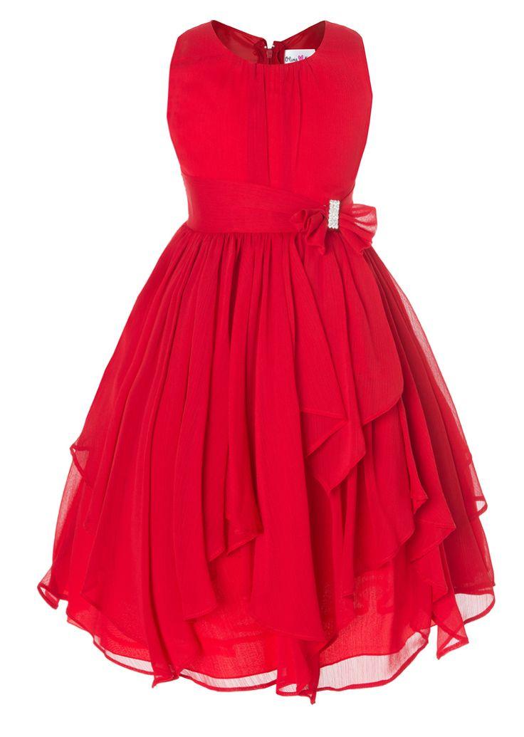Best 25  Red flower girl dresses ideas on Pinterest | Red flower ...