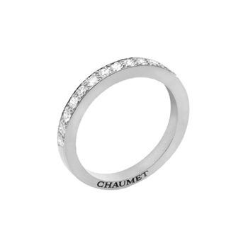 フリソン ハーフエタニティ - CHAUMET(ショーメ)の結婚指輪(マリッジリング)一生ものだから…あこがれのショーメの結婚指輪を集めました♡