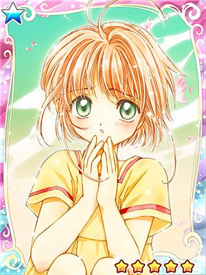 New cards from the Cardcaptor Sakura mobile game
