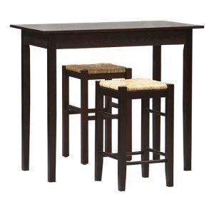 Linon Tavern 3-Piece Counter Height Set - Pub Tables & Bistro Sets at…