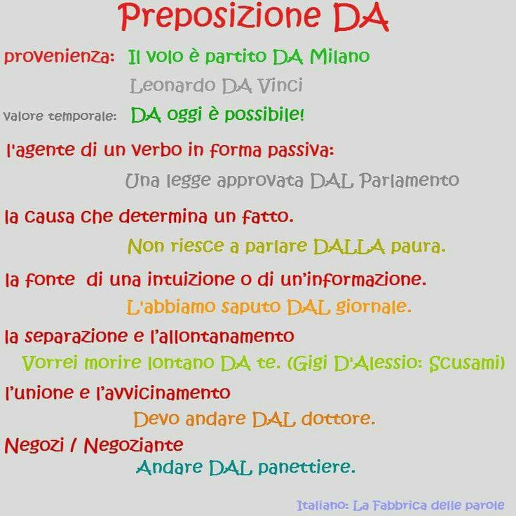 English In Italian: 17 Best Images About Italian: La Grammatica On Pinterest