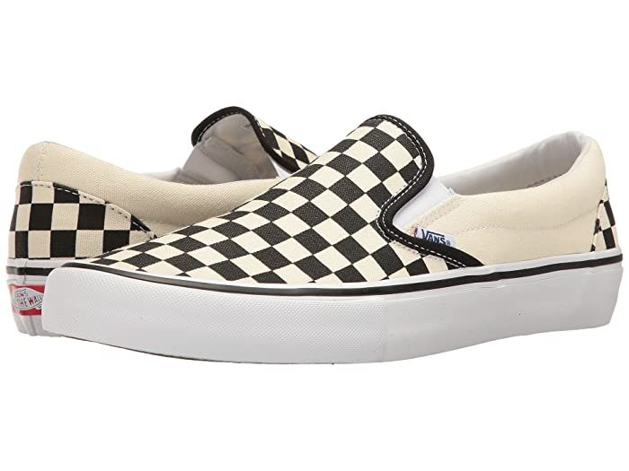 Vans slip on, Vans checkerboard slip on