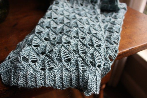 Hortensia Cowl, pattern by NellKnits. Lovely winter knitting.