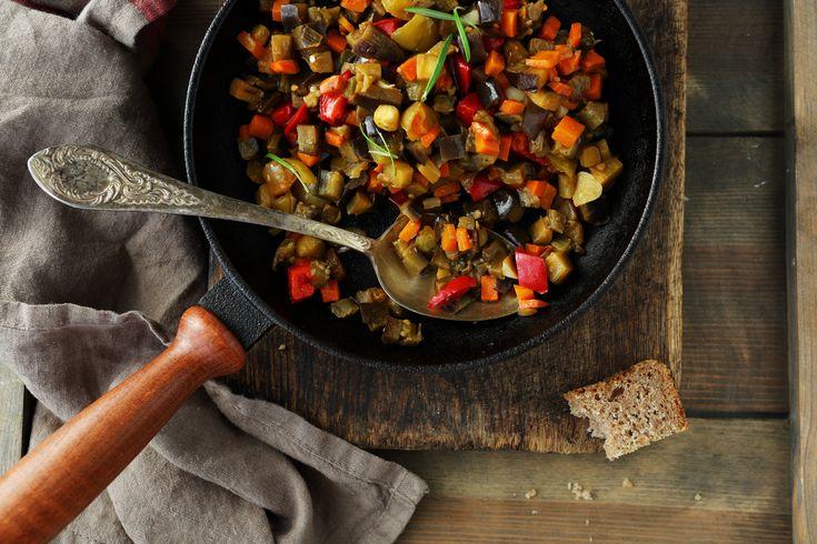 Tutti i segreti delle verdure in padella
