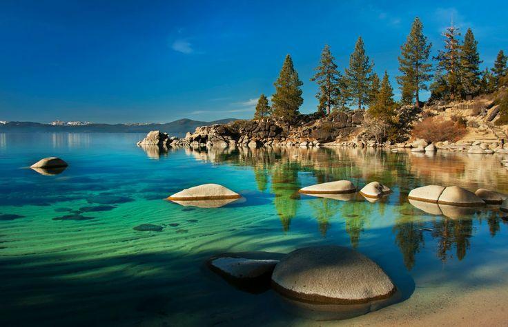 Lago Tahoe - Serra Nevada - EUA