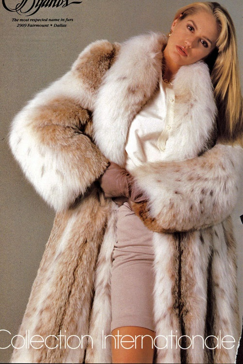 big lynx fur coat | lynx | Pinterest | Fur coats, Lynx and Fur coat