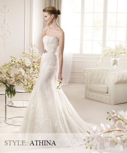 San Patrick Wedding Gown - Fashion Collection 2013 - Athina