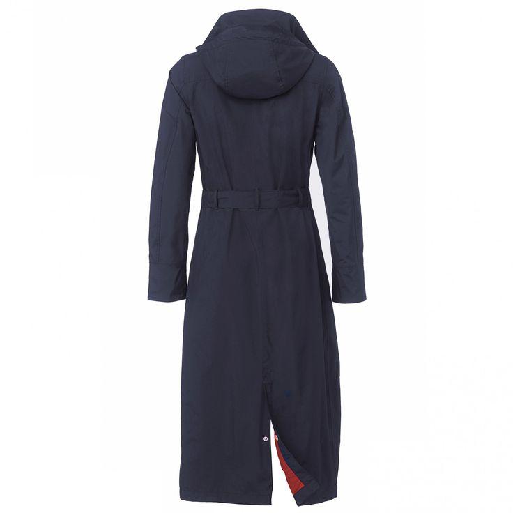 Long raincoat Madonna midnight - Long raincoats - Shop | HappyRainyDays