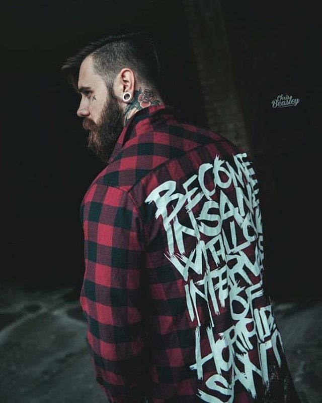 """""""Poe's Insanity"""" Checked Shirt currently sold out but check out our other apparel at www.crmc-clothing.co.uk 