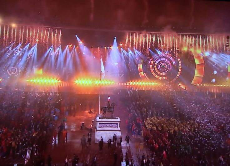 Glasgow opening Commonwealth Games 2014