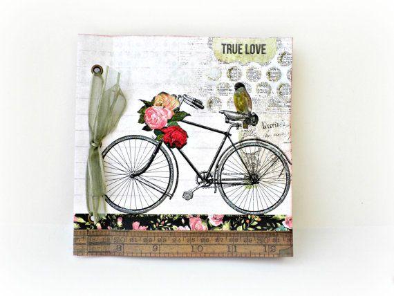 Scrapbooking mini albumPhoto book Memories album by sweetpaperlife