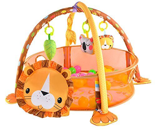 Tapis Educatif Parc A Balles Pour Bebe Age 0 1 8 Kg 90 X 64 X 53 Cm Tapis Stimule Parfaitement Le Developpement Des Tapis Jeu Jouet Jouet