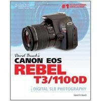 David Busch Canon EOS Rebel T3/1100D Guide to Digital SLR Photography, 400 Pages Soft Cover by David Busch. $29.99. The Rebel T3/1100D is one of the most advanced entry-level cameras Canon has ever introduced. It boasts 12.2 megapixels of resolution, fast automatic focus and cool features like the real-time preview system called Live View and standard high definition (1280 x 720 pixel) movie shooting. David Busch Canon EOS Rebel T3/1100D Guide to Digital SLR Photogra...