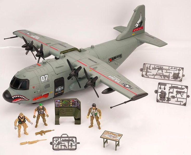 Игровой набор «Военный самолет»
