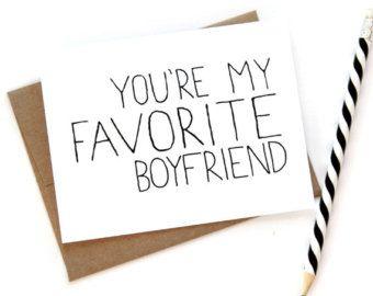 Carte pour petit ami - vous êtes mon copain préféré