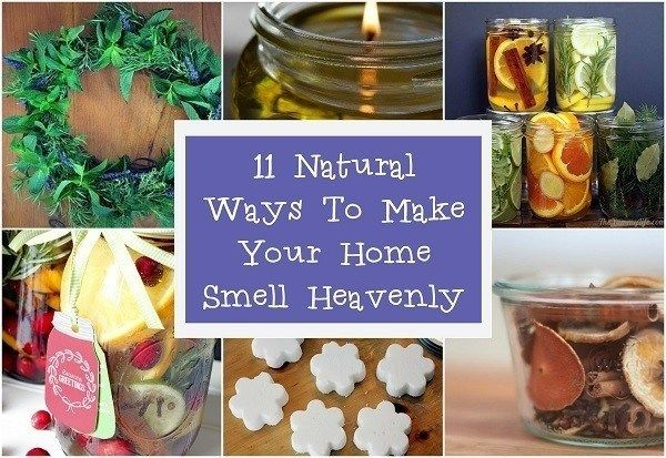 11 Natural Ways To Make Your Home Smell Heavenly