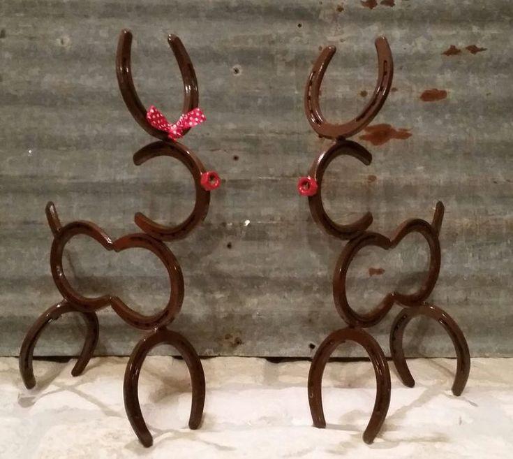 Best 25 horseshoe ideas ideas on pinterest horse shoes for Horseshoe christmas art