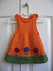 Ravelry: Anouk as a Dress pattern by Alison Reilly