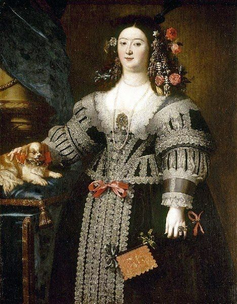 Girolamo Forabosco (1605-1679) Lady with a Dog