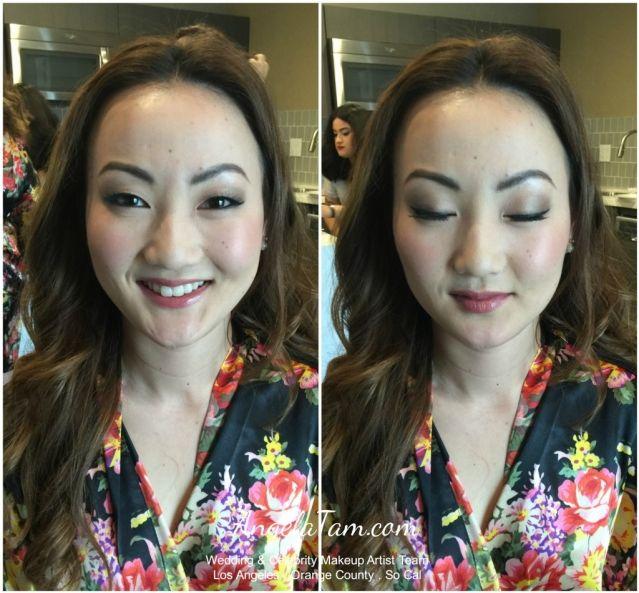 Asian Wedding Korean Bride Makeup Artist And Hair Stylist Team Angela Tam Los