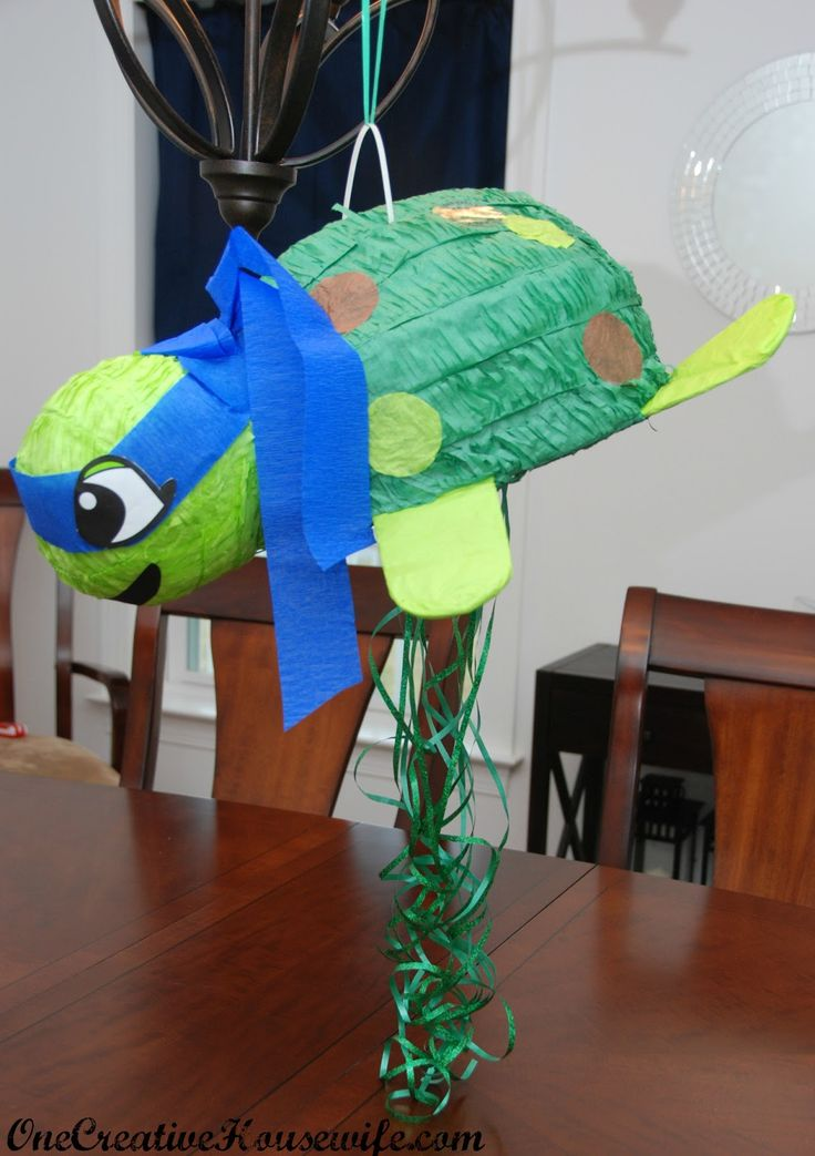 25 best images about fiesta tortugas ninja on pinterest for Tmnt decorations