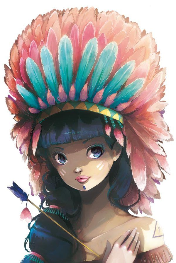 Tiger Lily by Ludovic Jacqz, via Behance