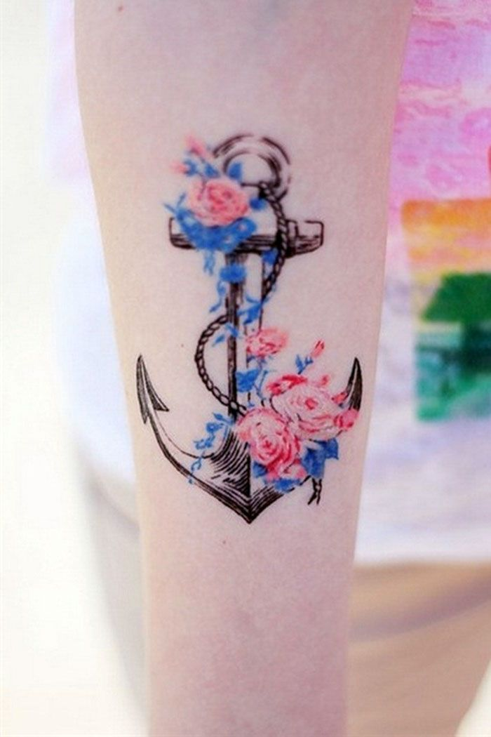 Anchors Tattoos For Girls anchor tattoos ideas for girls cool tattoos ...