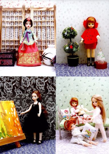 My special doll Vol. 1 with doll cloth patterns - Korean doll cloth making book, Korean craft book