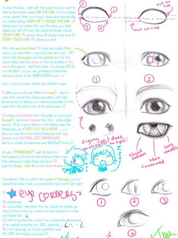 More on eyes