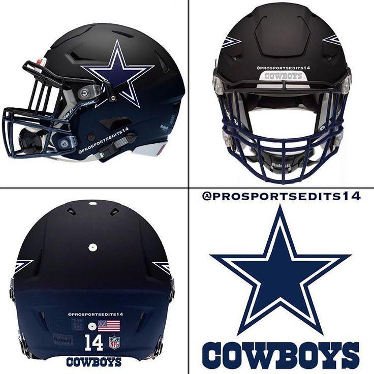 372 best images about dallas cowboys on pinterest tony - Dallas cowboys concept helmet ...