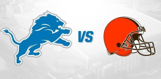 Cleveland Browns vs Detroit Lions