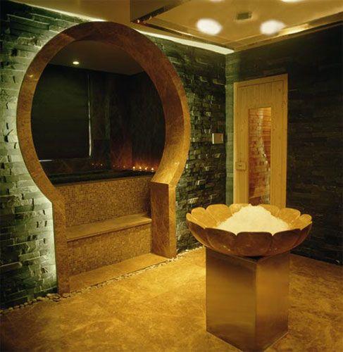 Die 57 Besten Bilder Zu Steam Sauna Auf Pinterest | Mosaik, Suche ... Luxus Badezimmer Mit Sauna