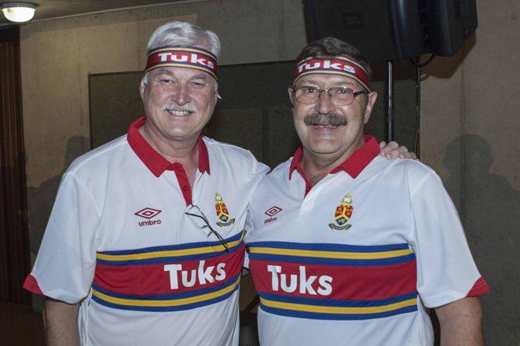 Stripe UP 2015: Prof Antonie de Klerk and Mr Kobus Van der Walt after recieving their Stripes
