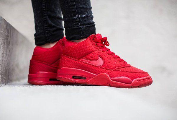 reputable site add77 d1944 ... Nike Flight Squad Triple Red Dope Shoes Pinterest Original air jordans,  Asics and Nike ...