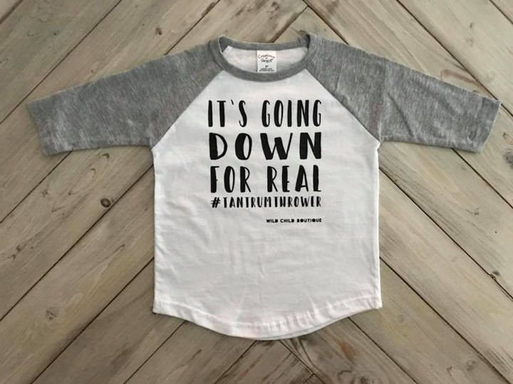 On A Onesie Funny Kids Shirts Toddler Humor Baby Shirts