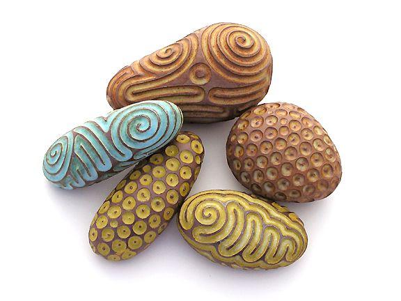 art, carved, ceramic, clay, geomancy, instrument, rattle, singing stones™, stones, whitney krueger
