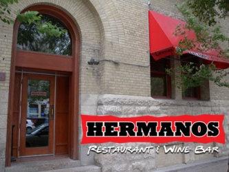 Hermanos restaurant and wine bar, Winnipeg.