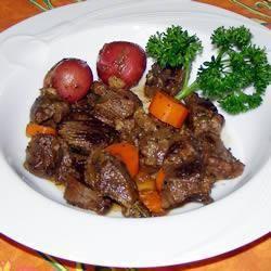 Goulash met hertenvlees @ http://allrecipes.nl