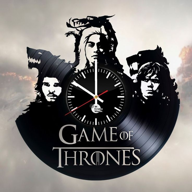 Best 25 clock art ideas on pinterest time clock wall for Game of thrones garden ornaments